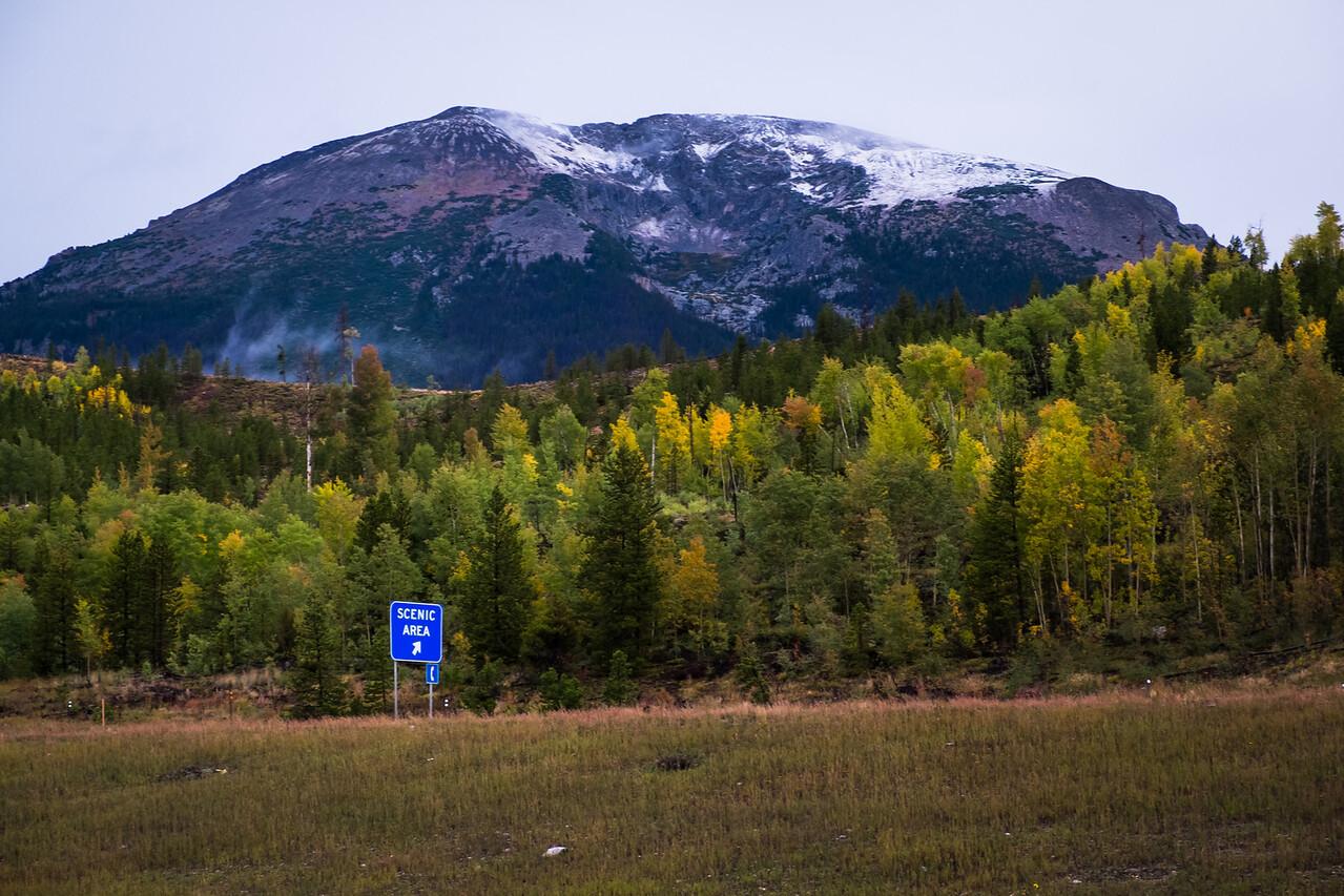 Scenic Buffalo Mountain
