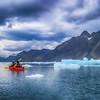 Kayaking in Ice