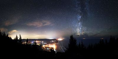 Manzanita City, Oregon.