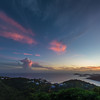 Sunset Flag Hill, St Thomas USVI