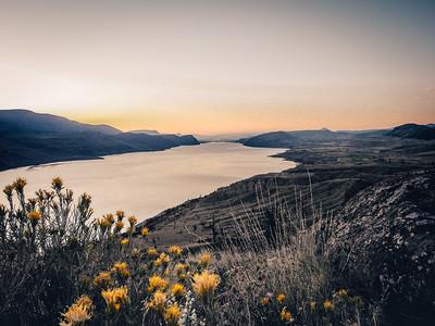 Kamloops Lake at Sunrise