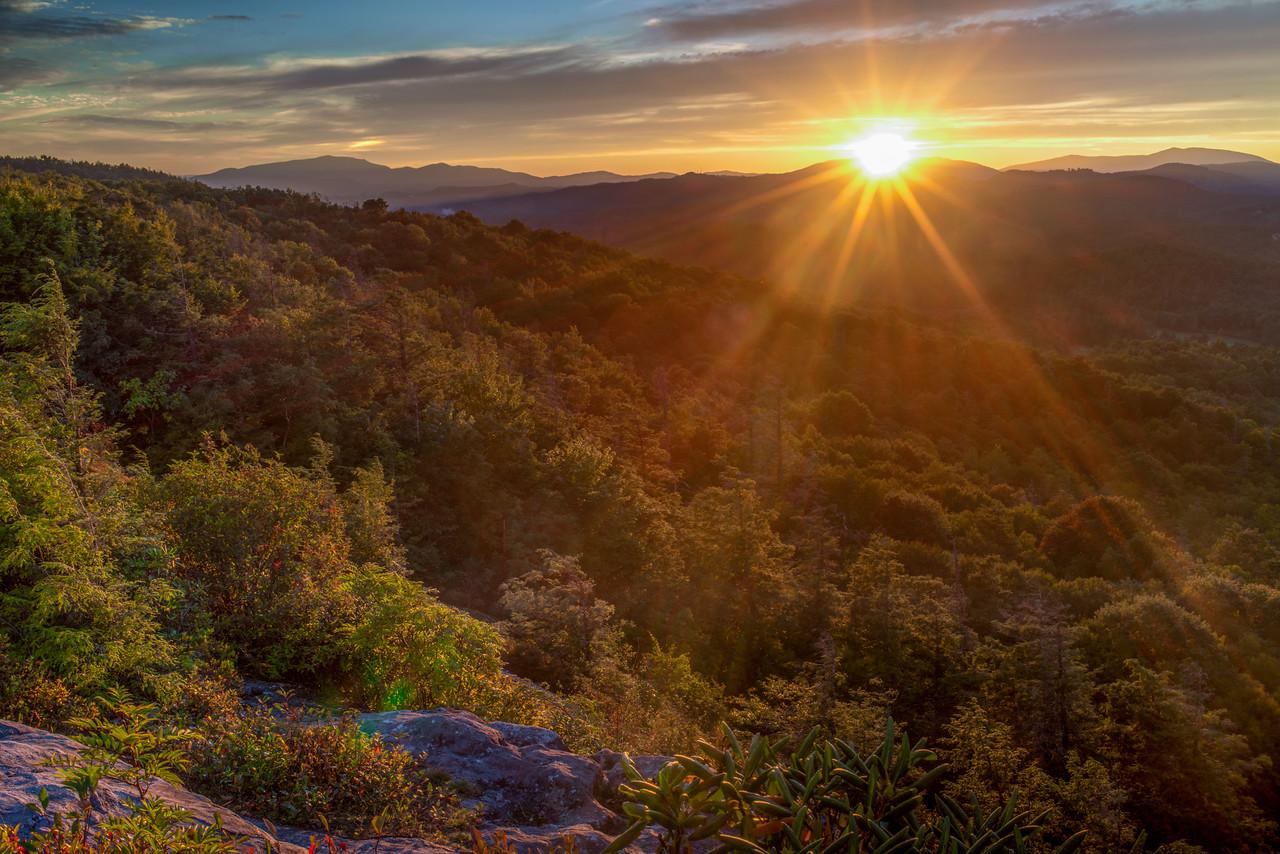 Flat Rock Sunset