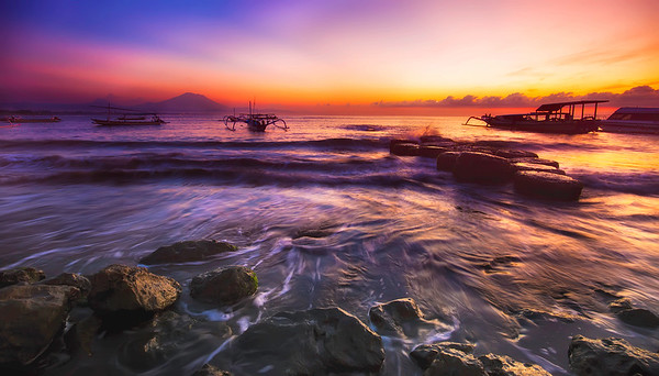 A New Day at Sanur Beach