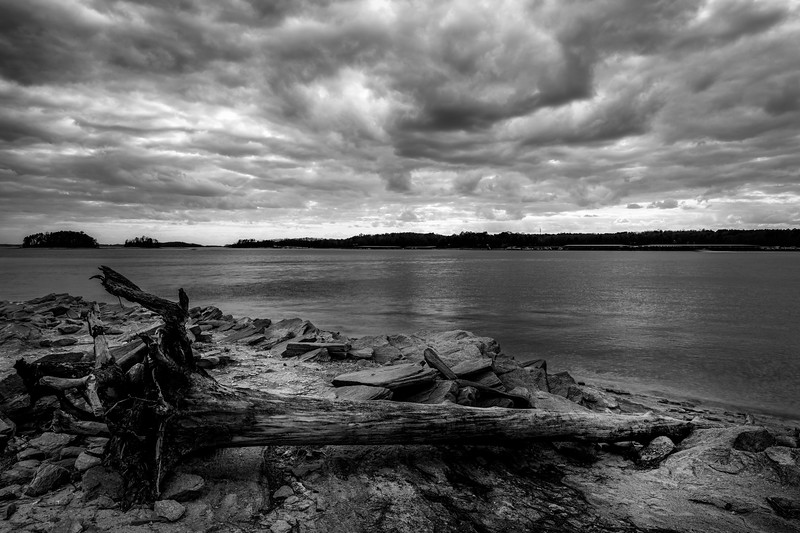 Dramatic Skies on Lake Lanier