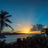 Sunrise over Bolongo Bay - St Thomas, USVI