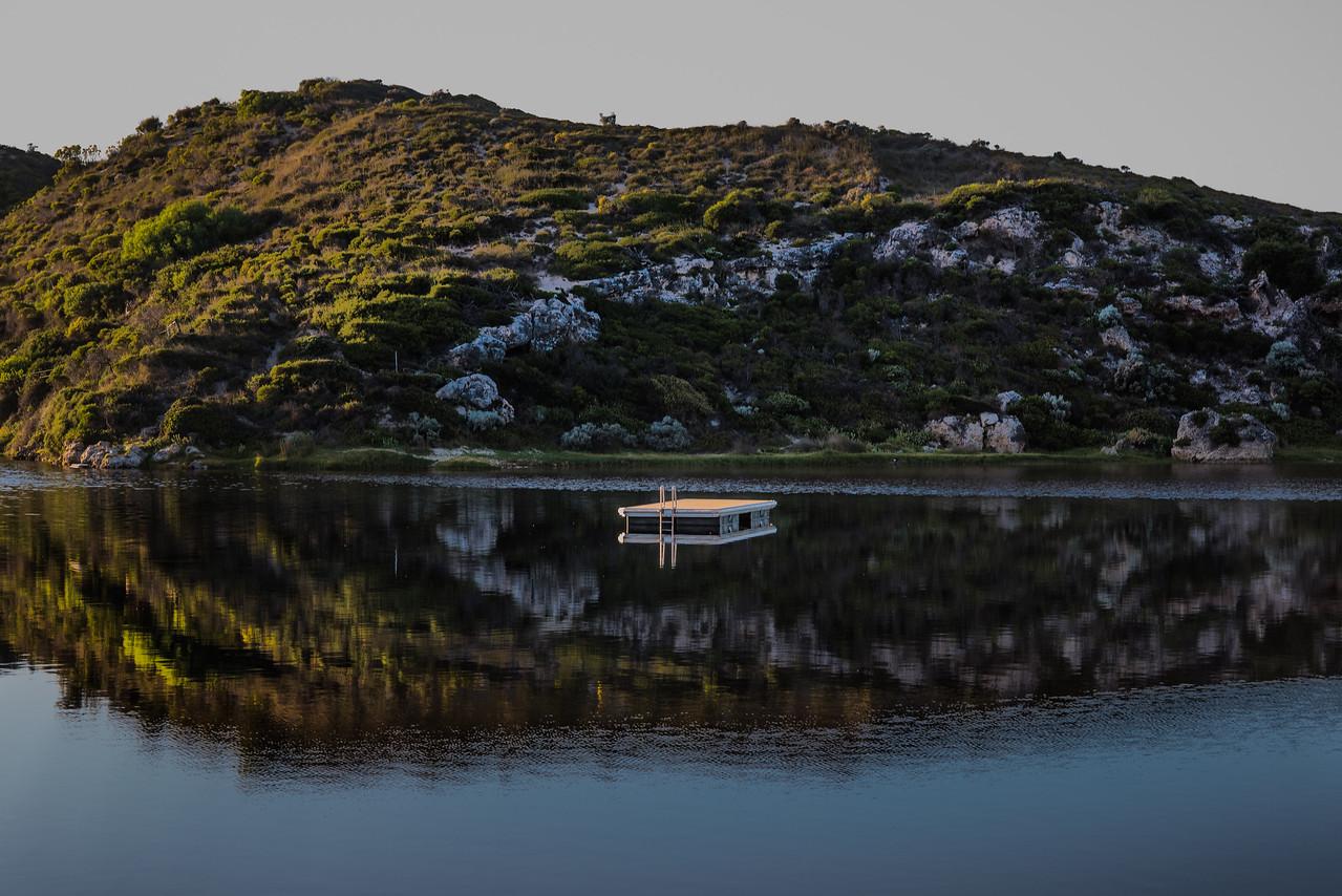 Guilderton river mouth WA Australia