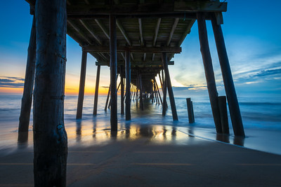Morning at the Avalon Pier