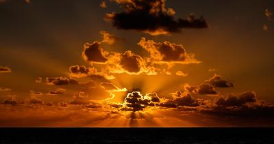 Delray Sunrise Rays