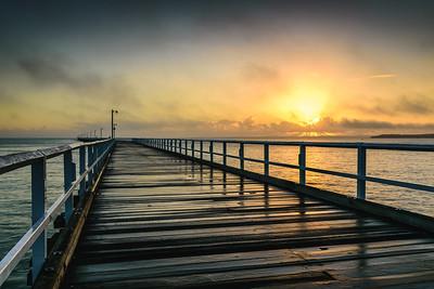 Urangan Pier Sunrise