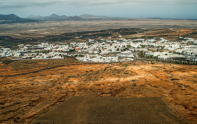 From  the  Old  Fort . Lanzarote .