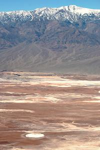 Telescope Peak (11,049 ft.) in the Panamint Range, overlooking Death Valley.