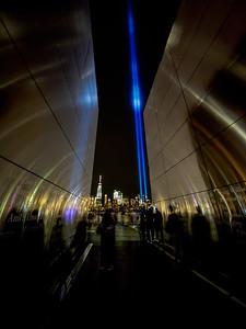 Inside the Empty Sky Memorial on 9-11-2017