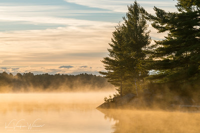 Gull Lake Morning Glow