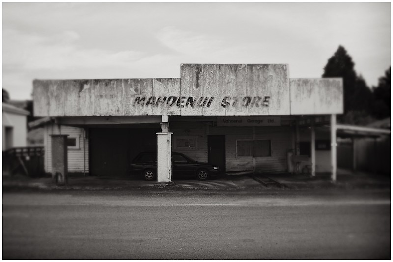 Mahoenui Store , King Country 2017