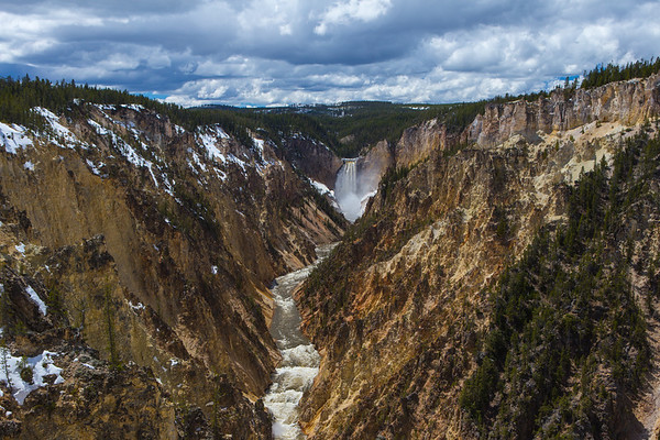 Artist Point, Yellowstone