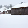 Barns in the Snow