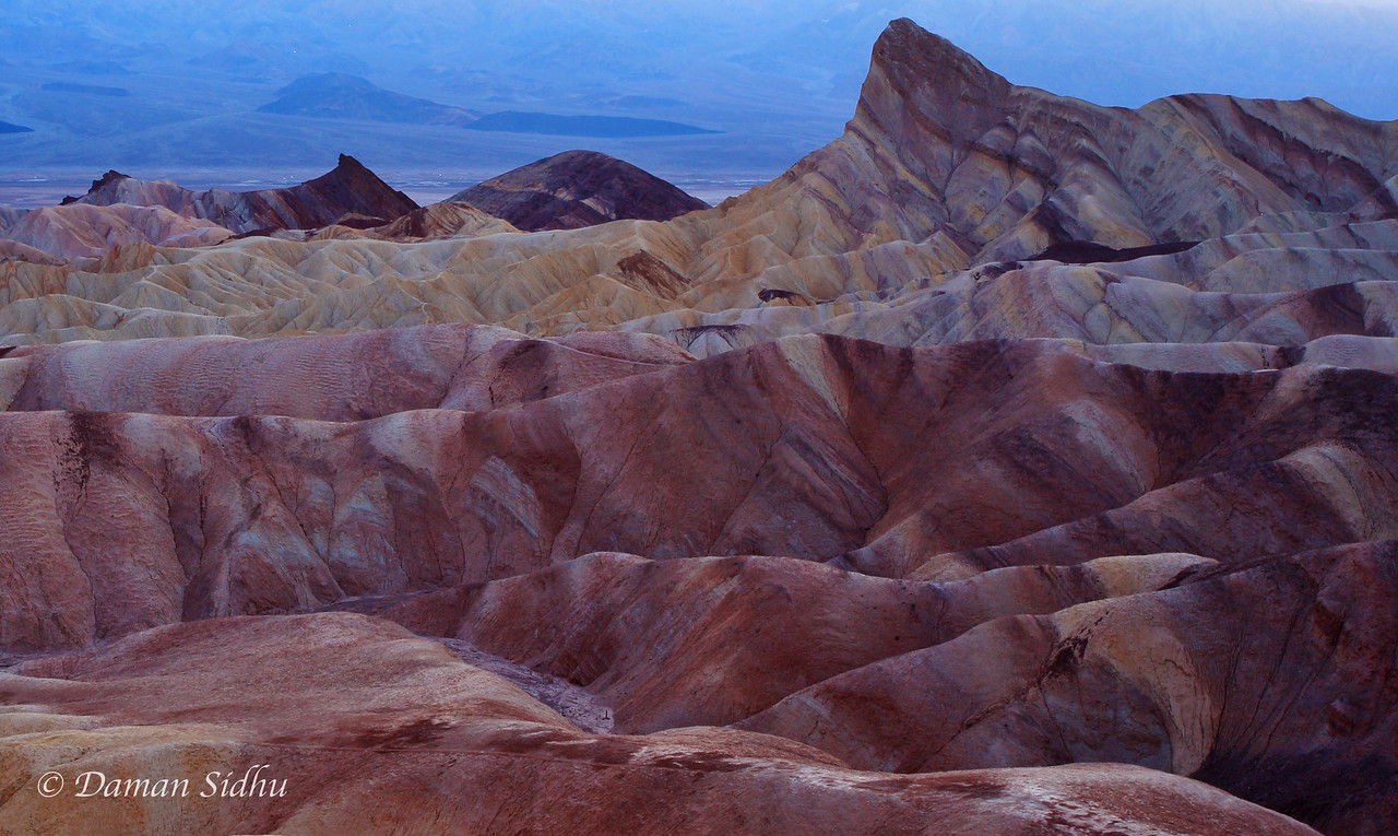 Death Valley Layers