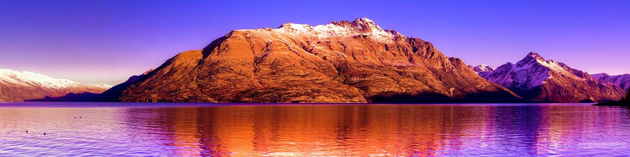 Lake Wakatipu Mountains