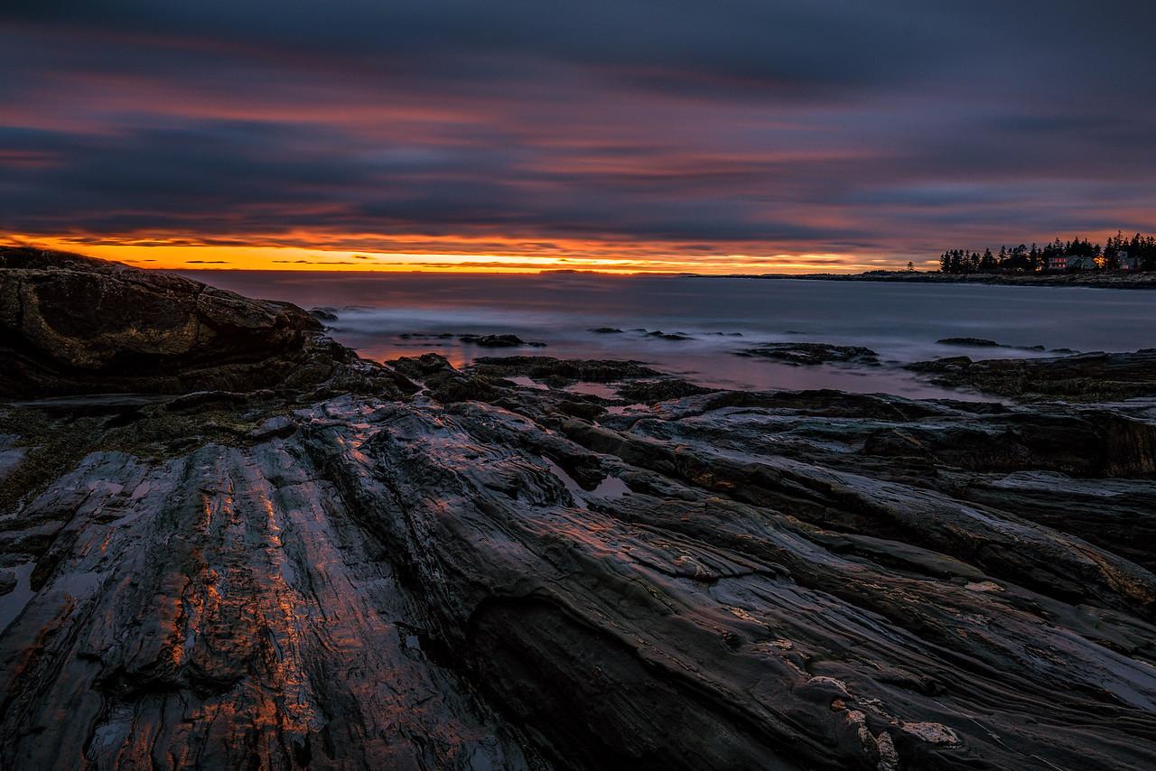 Pemaquid Point Lighthouse. Bristol, Maine. December, 2015