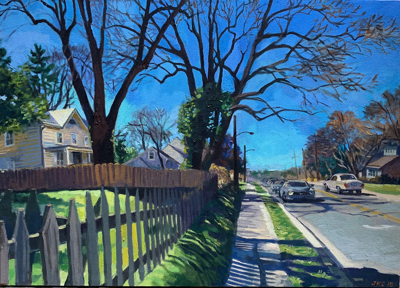 Picket Fence, West Montgomery Ave.