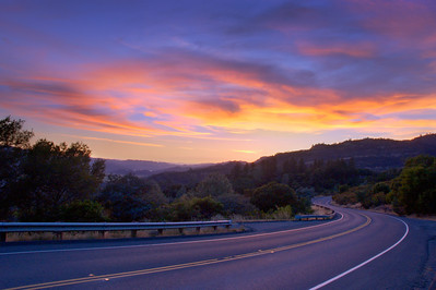 Sky on Fire – Napa Valley, California