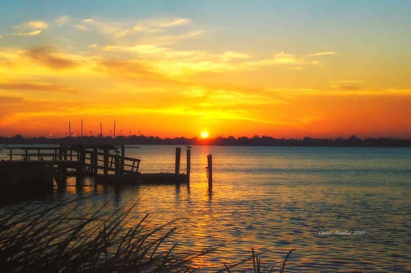 Sunset  24 x 36