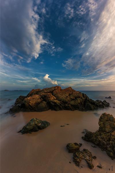 Rocks at French Bay, St Thomas USVI
