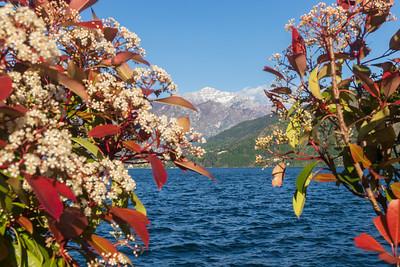 Lago di Como, Lombardia.