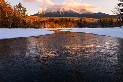 Cold Start Mount Katahdin
