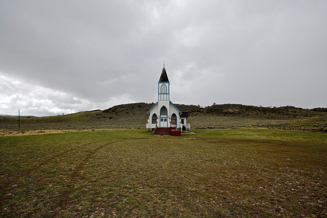 Trinity Lutheran Church, Lennep, Montana