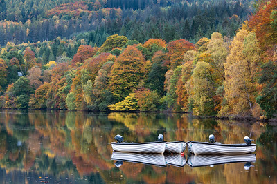 Loch Faskally Boats