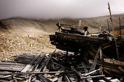 Sherman Mine Debris