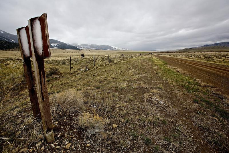 Butte Bound.  Montana