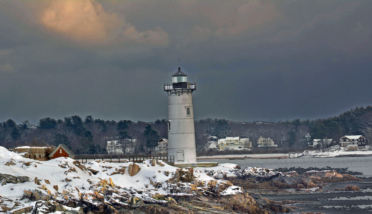 Portsmouth Lighthouse #1.  Portsmouth NH