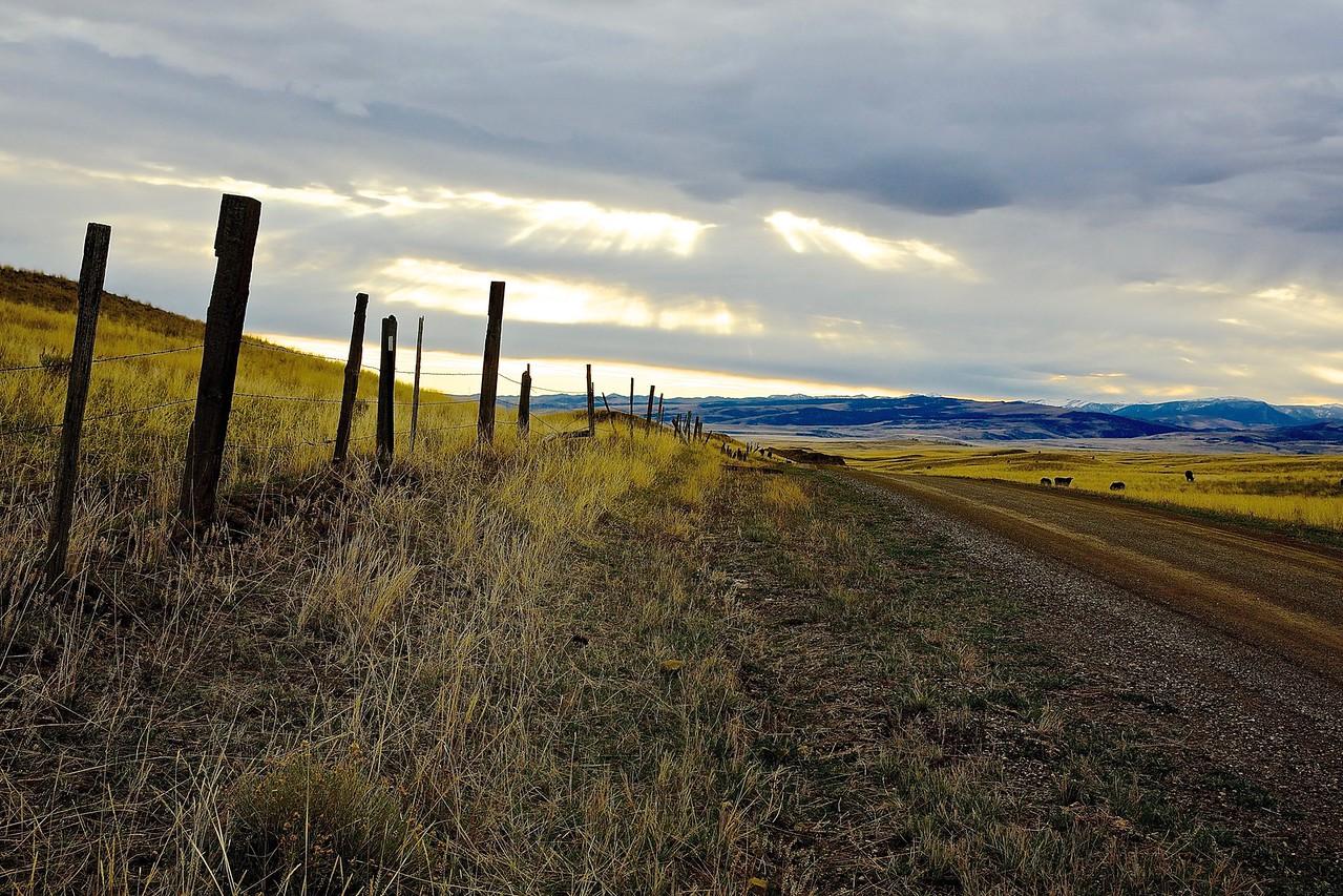 Vista. Near Bozeman, Montana
