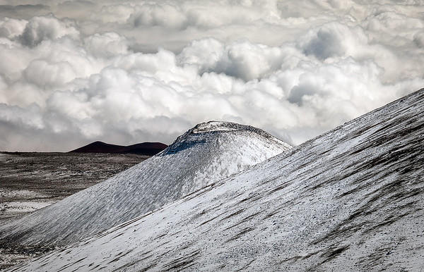 High Clouds at Mauna Kea