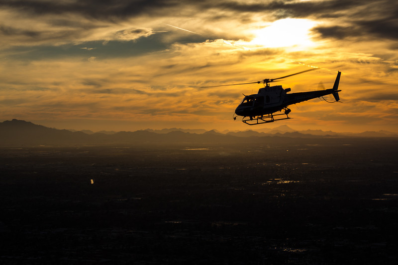 Sunset Search and Rescue in Phoenix, Arizona