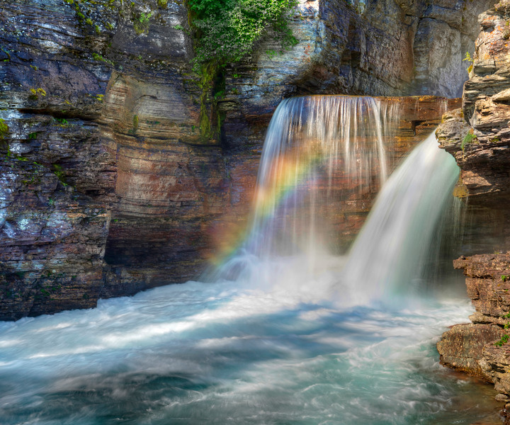 St. Mary's Falls Rainbow