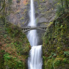 Multnomah Falls Vertical, Columbia River Gorge, OR