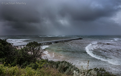 70 Knot Storm Front Point Lonsdale