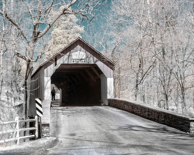 Bucks County Covered Bridge 2