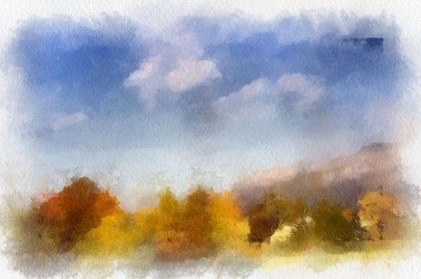 Painterly Landscape