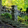 Steps at Tanger Family Bicentennial Garden