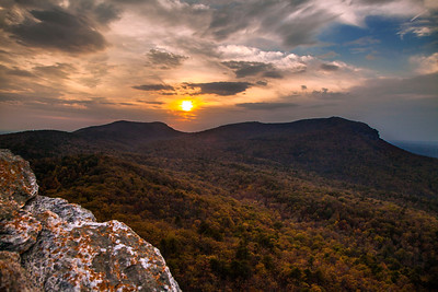 Hanging Rock Sunset