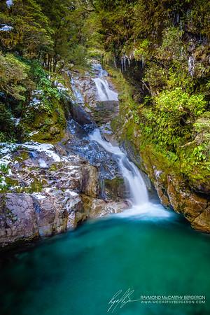 Frozen Falls Creek