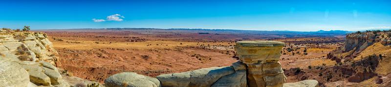 Rocks - Panorama - Utah