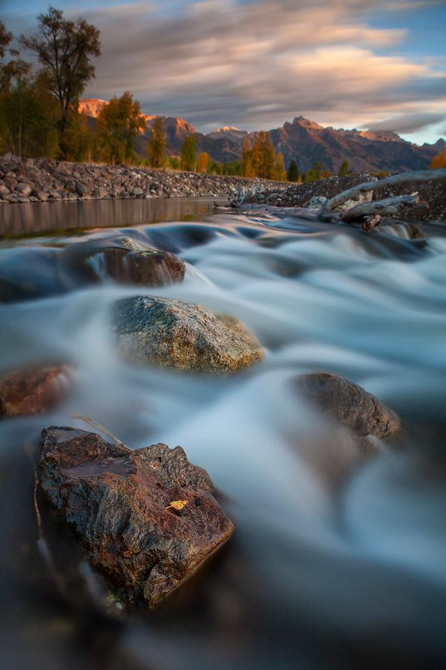Snake River, Jackson Hole, Wyoming. 2016