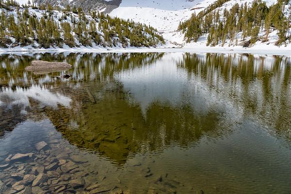 Third Lake and Temple Crag - John Muir Wilderness