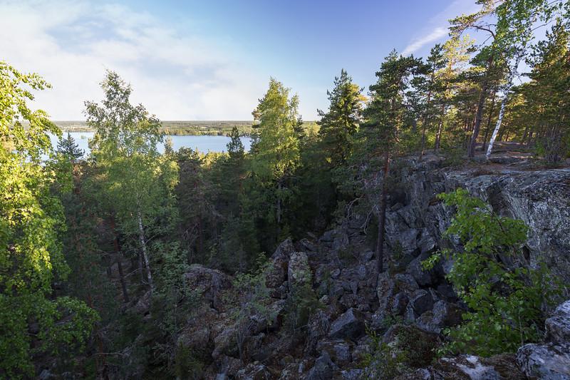 View from Pirunvuori