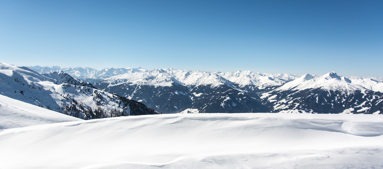 View on the Alpes